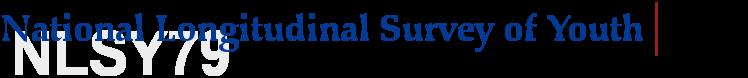 National Longitudinal Survey of Youth - 1979 Cohort